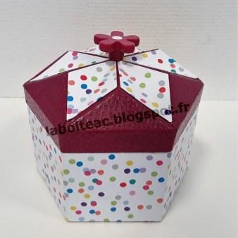 Boite Origami revisitée 27-Francine H