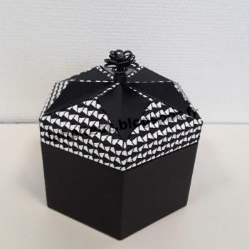 Boite Origami revisitée 50-Maria R