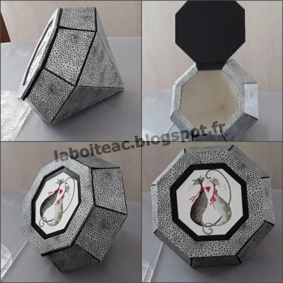 Coffret à bijoux diamant 1-Danièle T