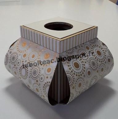 Boite à mouchoirs Corolle 23-Ariane B