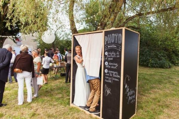 photo cabine photo mariage