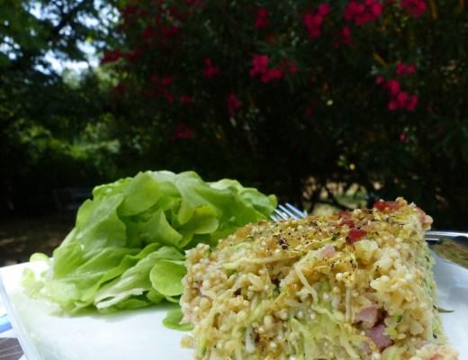 le merveilleux flan au quinoa