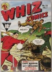 Whiz Comics 33 (août 1942)
