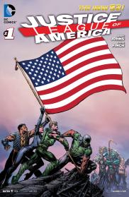 Justice League of America 1 (avril 2013)