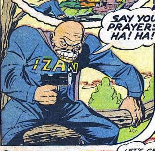 Case extraite de Captain America Comics 23 (février 1943)
