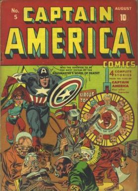 Captain America Comics 5 (août 1941)