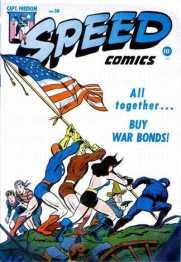 Speed Comics 38 (juillet 1945)