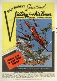 """Affiche de """"Victoire dans les airs"""" extraite de Walt Disney's Comics And Stories 35 (août 1043)"""