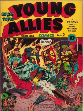 Young Allies 2, hiver 1941