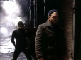 Daredevil et Turk. Image extraite de Le procès de l'incroyable Hulk.
