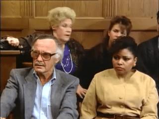 Stan Lee. Image extraite de Le procès de l'incroyable Hulk.