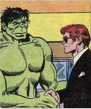 Case extraite de The Incredible Hulk 152 (juin 1972).
