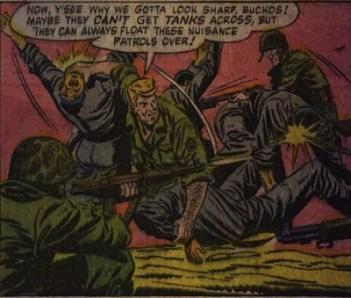 Case extraite de Bill Battle : The One-Man Army 3 (décembre 1952)