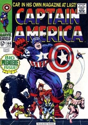 Captain America 100 (avril 1968)