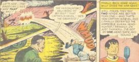 Cases extraites de Captain Marvel Adventures 141 (février 1953)