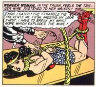 Case extraite de Sensation Comics 5 (mai 1942)