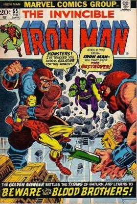 The Invincible Iron Man 55 (février 1973)