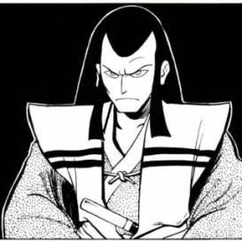 Seigneur Hikiji. Image extraite de Usagi Yojimbo