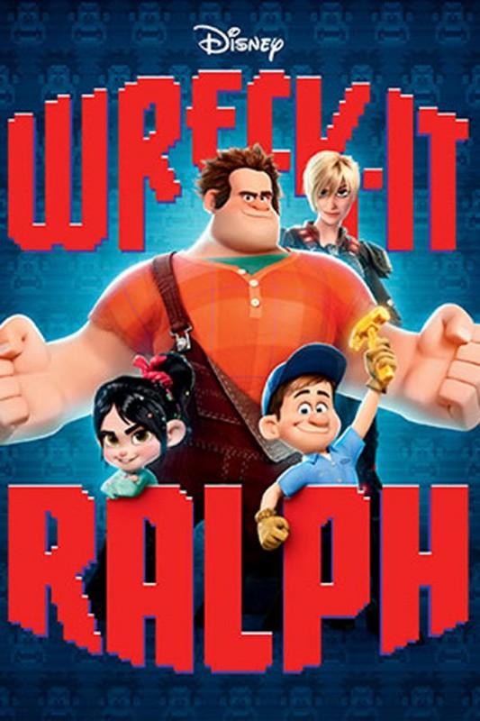 2012 Wreck It Ralph Poster 533x800 Les affiches des 53  films Disney de 1937 à 2013  design cinema 2 art