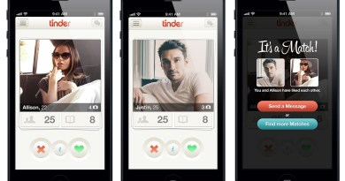 La app móvil Tinder clasifica de forma oculta a sus usuarios según lo deseables que son