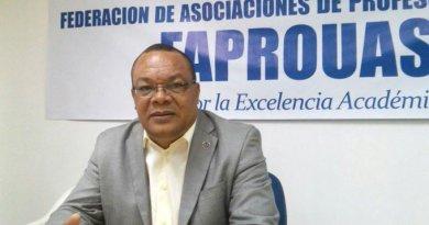 Vídeo- FAPROUASD: Santiago Guillermo presenta detalles de las elecciones mañana
