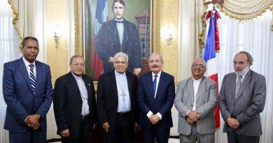Presidente Medina recibe a Francisco Ozoria