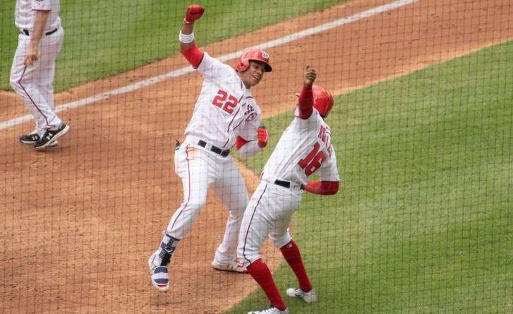 Juan Soto, Víctor Robles y  Carter Kieboom hicieron algo nunca visto en Grandes Ligas