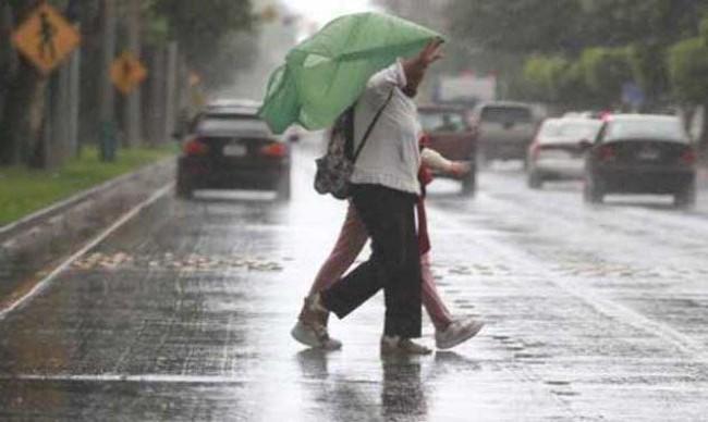 Meteorología pronostica lluvias hacia varias localidades y temperaturas calurosas