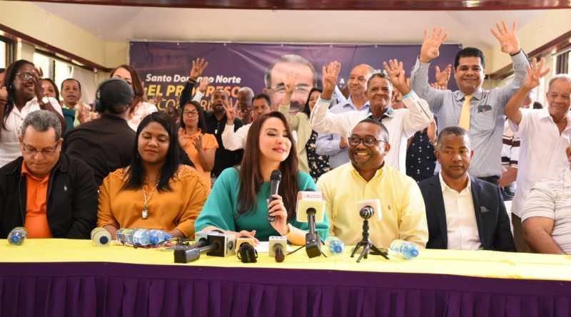 Equipo de Danilo Medina en SDN convoca acto en respaldo a su Gobierno