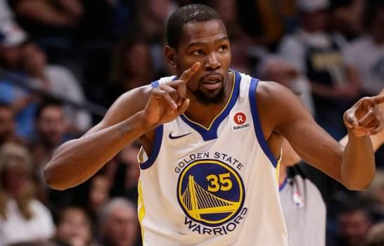 Kevin Durant se perderá 3er y Quarto partido de Warriors ante Blazers