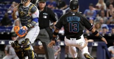 Marlins salen de mala racha con triunfo sobre Mets