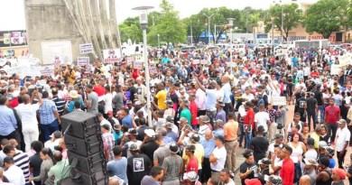 Grupos en San Cristóbal rechazan nueva reforma  a la Constitución