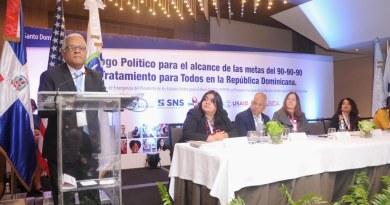 Realizan diálogo político a resolve on de la respuesta nacional al VIH y sida en RD