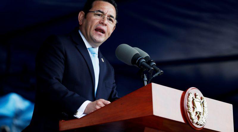 """Jimmy Morales pide que elecciones no se conviertan en """"una tragedia judicial"""""""