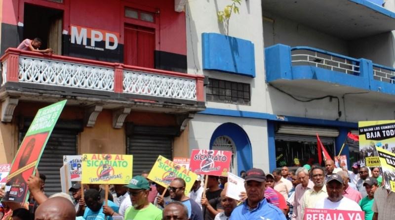 MPD exhorta a promover y apoyar protestas contra apagones en Santo Domingo