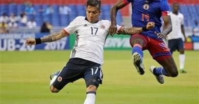 Colombia vence 3-1 a Haití antes de su debut contra EE. UU.