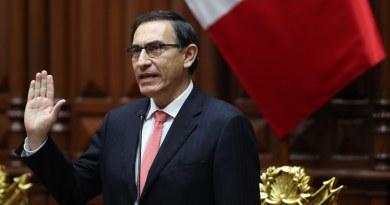 Presidente Vizcarra mantiene abierta opción de cerrar el Congreso peruano