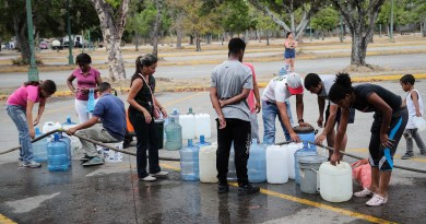 Venezolanos tendrán mejor acceso a agua potable con el apoyo de Unicef
