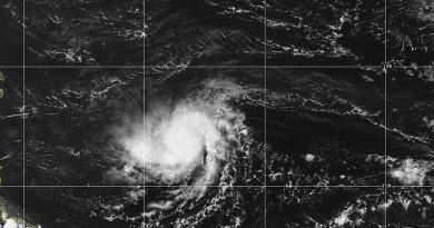 El COE informa que a las 5:00 p.m. habrían cambios en las alertas por tormenta Dorian