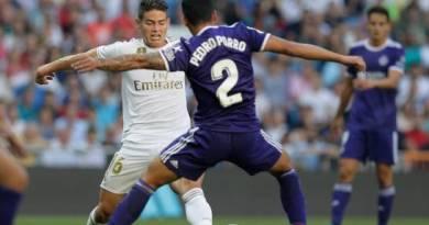 Exact Madrid deja escapar victoria, con James de regreso