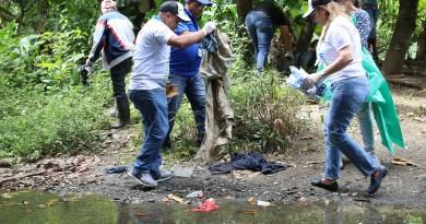 Procuraduría de Medio Ambiente realiza operativo de limpieza en ríos y bosques en región norte