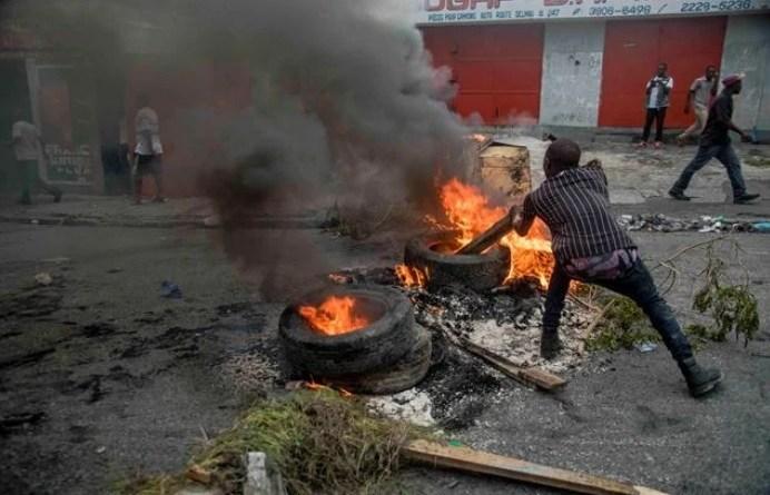 Un muerto y varios heridos en manifestaciones contra Gobierno Haití