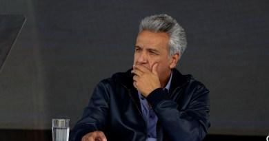 Moreno asegura que intención de manifestantes es desestabilizar al Gobierno