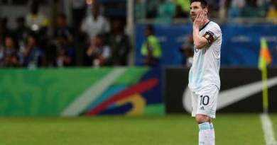 Suspenden a Messi por tres meses y lo multan con US$50.000