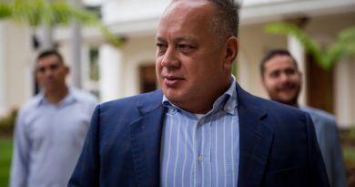 Diosdado Cabello niega Caracas esté detrás de protestas en Ecuador y Haití