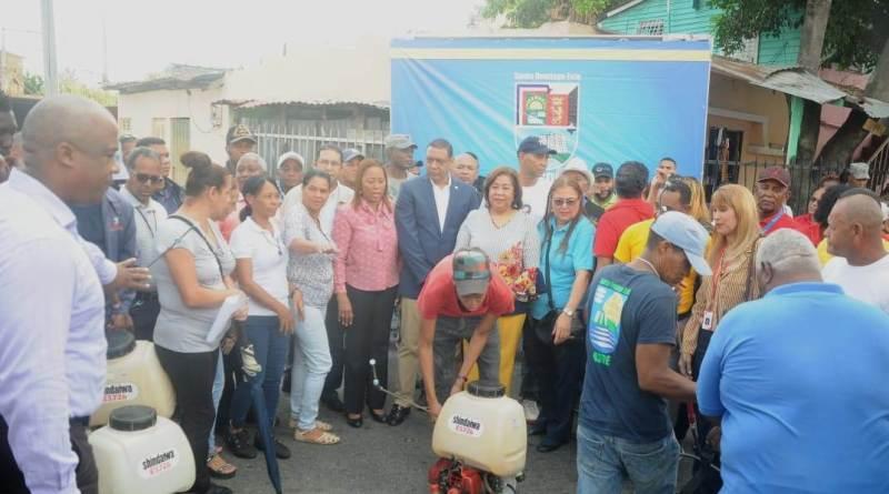 ASDE y Salud Pública realizan operativo preventivo contra el dengue