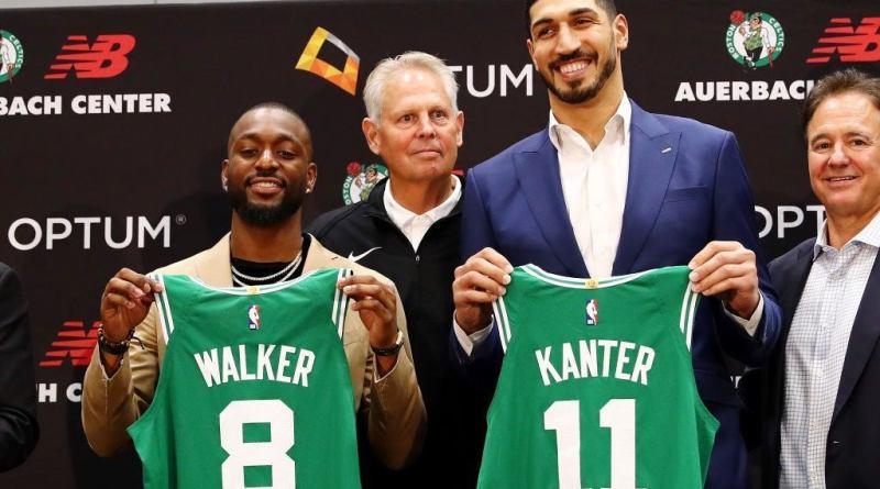 Kemba Walker es presentado oficialmente como Celtic