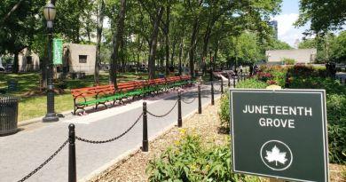 Nueva York renombrará algunos de sus parques para honrar a la raza negra