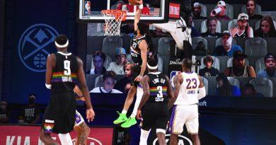 Murray, Grant y Jokic dan primer triunfo a los Nuggets sobre Lakers