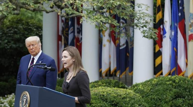 Trump confirma la designación de Amy Coney Barrett como jueza para el Supremo